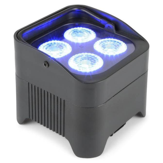 BeamZ BBP94 Projecteur PAR LED 4x 10W  RGBAW-UV sur batterie