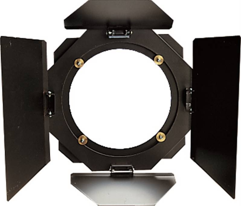 JB SYSTEMS BARNDOOR pour THEATERSPOT 1000 Coupe-flux pour Theatrespot 1000