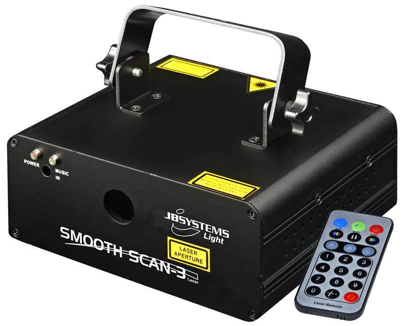 jb systems smooth scan 3 laser jeux de lumi re dj effet. Black Bedroom Furniture Sets. Home Design Ideas