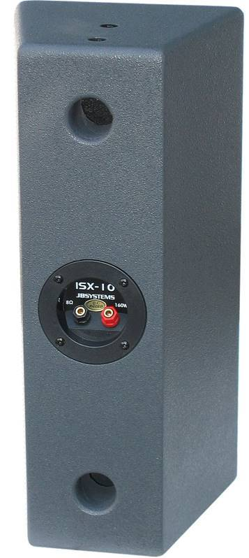 "JB SYSTEMS ISX-10 (1 pair) Enceinte satellite 2x 5"": 160Wrms / 8 ohm"