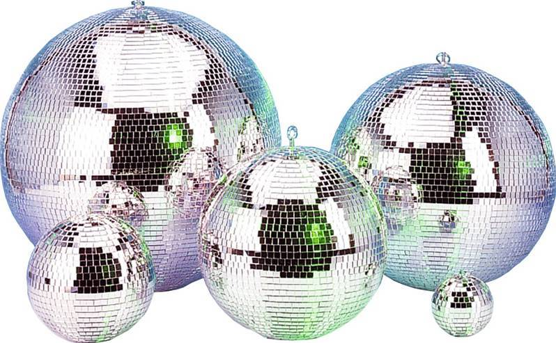"JB SYSTEMS MIRROR BALL 20""/50cm Boule à facette Disco 20""/50cm petits mirroirs"