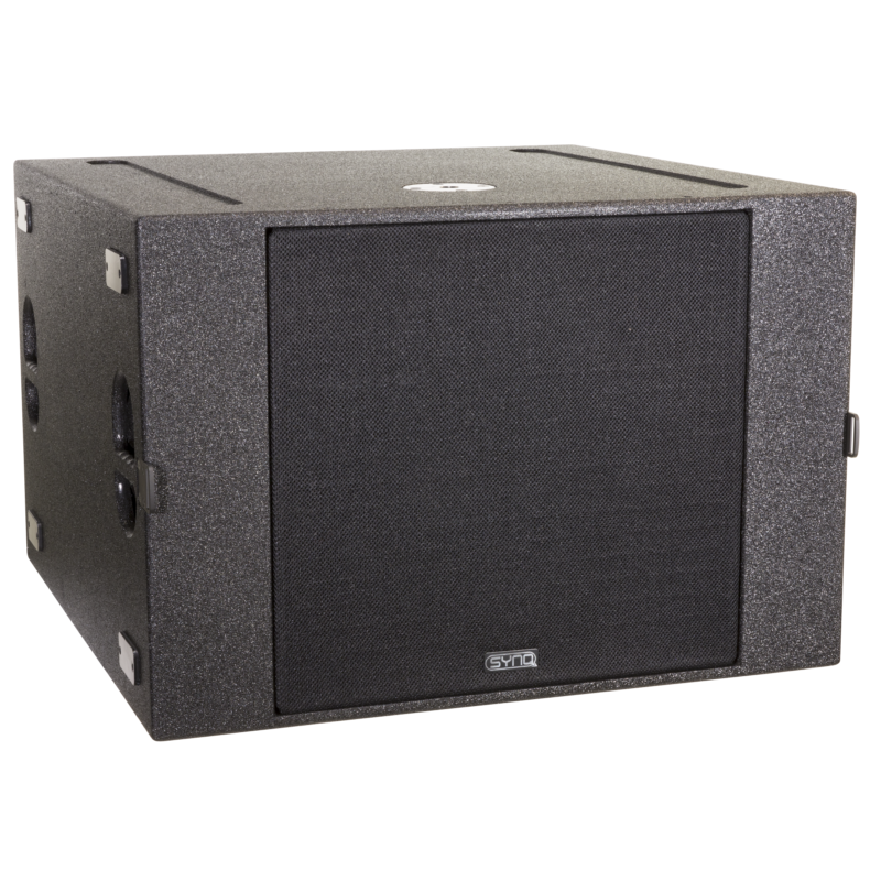 synq sq 215 subwoofer double 15 caisson de basse passif 2400w aes 4 ohms. Black Bedroom Furniture Sets. Home Design Ideas