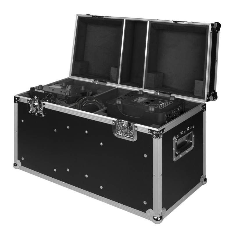 JV CASE LIGHT EFFECT CASE 4 Flight Case pour 2xClubhead ou BT-W12L10ZOOM
