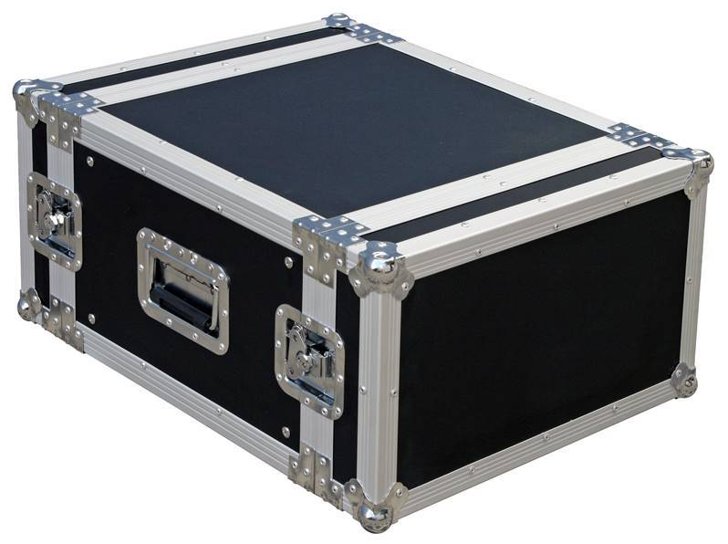 JV CASE RACK CASE 6U Flight-Case universel rack 6U
