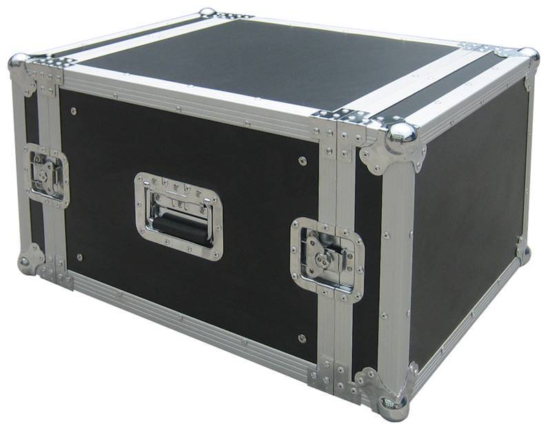 JV CASE RACK CASE 8U Flight-Case universel rack 8U