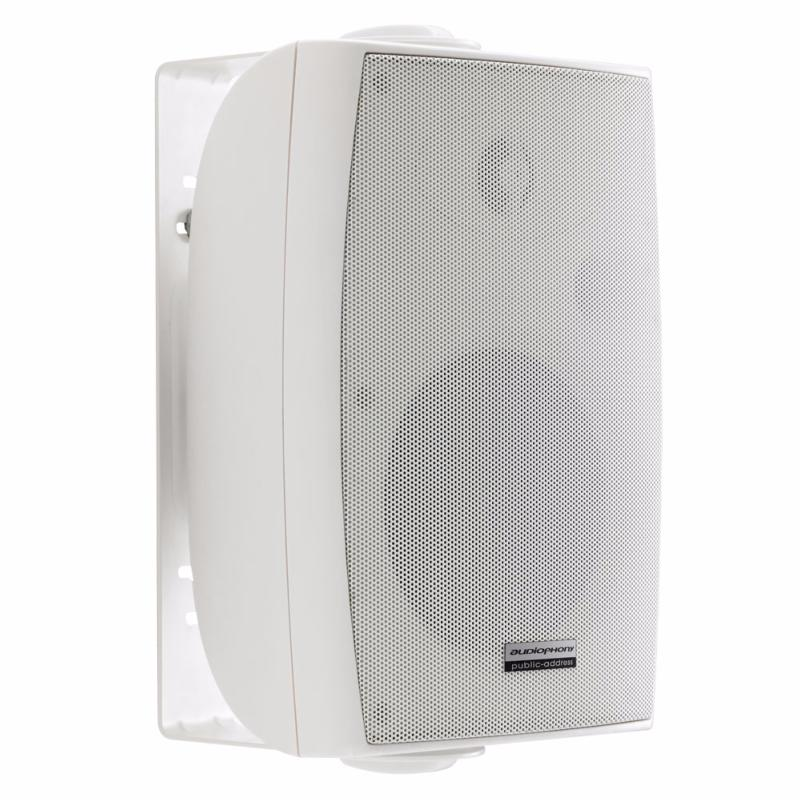 AUDIOPHONY EHP520W blanche enceinte murale HiFi 40W RMS 8 ohms ou 100V (1 paire)