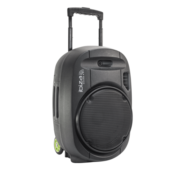 "IBIZA Sound PORT12VHF-MKII sono portable sur batterie 12"" 350W RMS micro sans fil usb mp3 bluetooth"