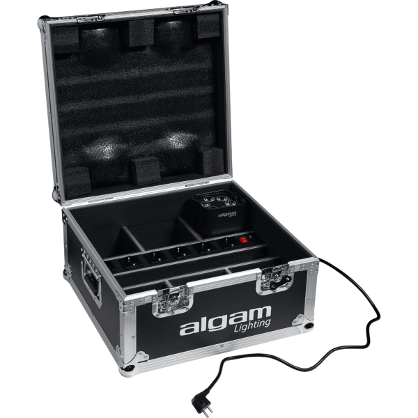 Algam Lighting Flight case pour 6 x EVENTPAR