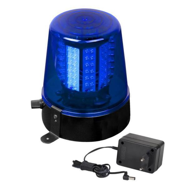 jb systems led police light bleu gyrophare jeux de lumi re led clairage dj. Black Bedroom Furniture Sets. Home Design Ideas