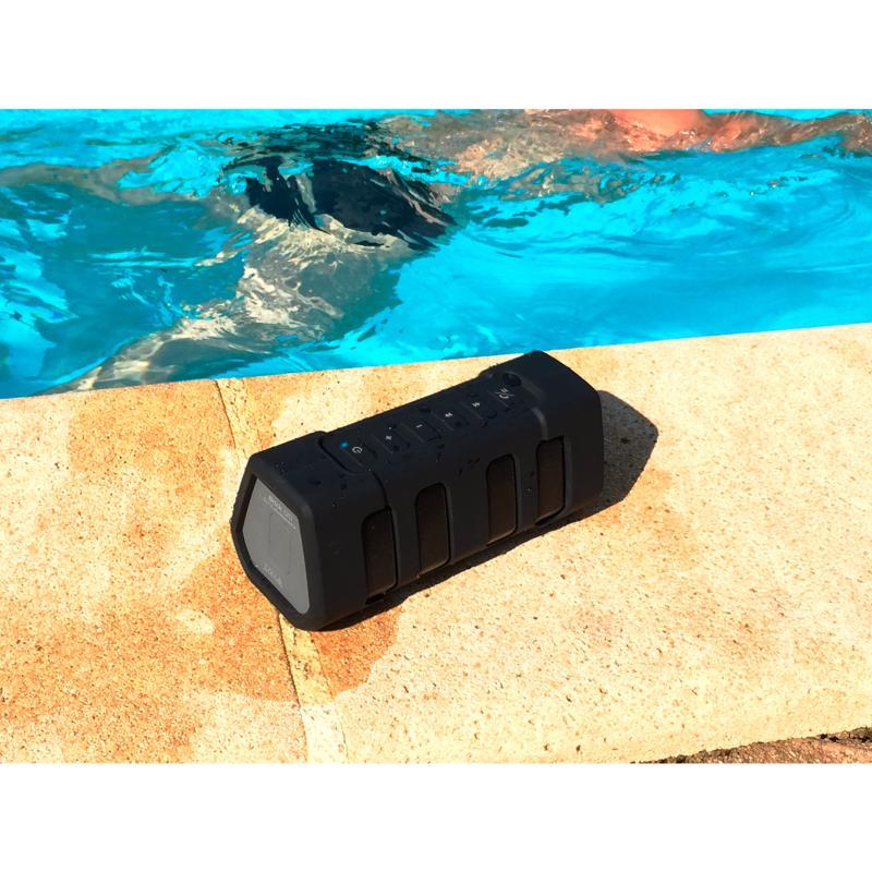 audiophony brick 120 enceinte portable bluetooth tanche sur batterie anti choc. Black Bedroom Furniture Sets. Home Design Ideas
