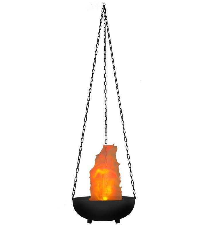 JB SYSTEMS LED VIRTUAL FLAME Effet flamme virtuelle, diameter: 36 cm