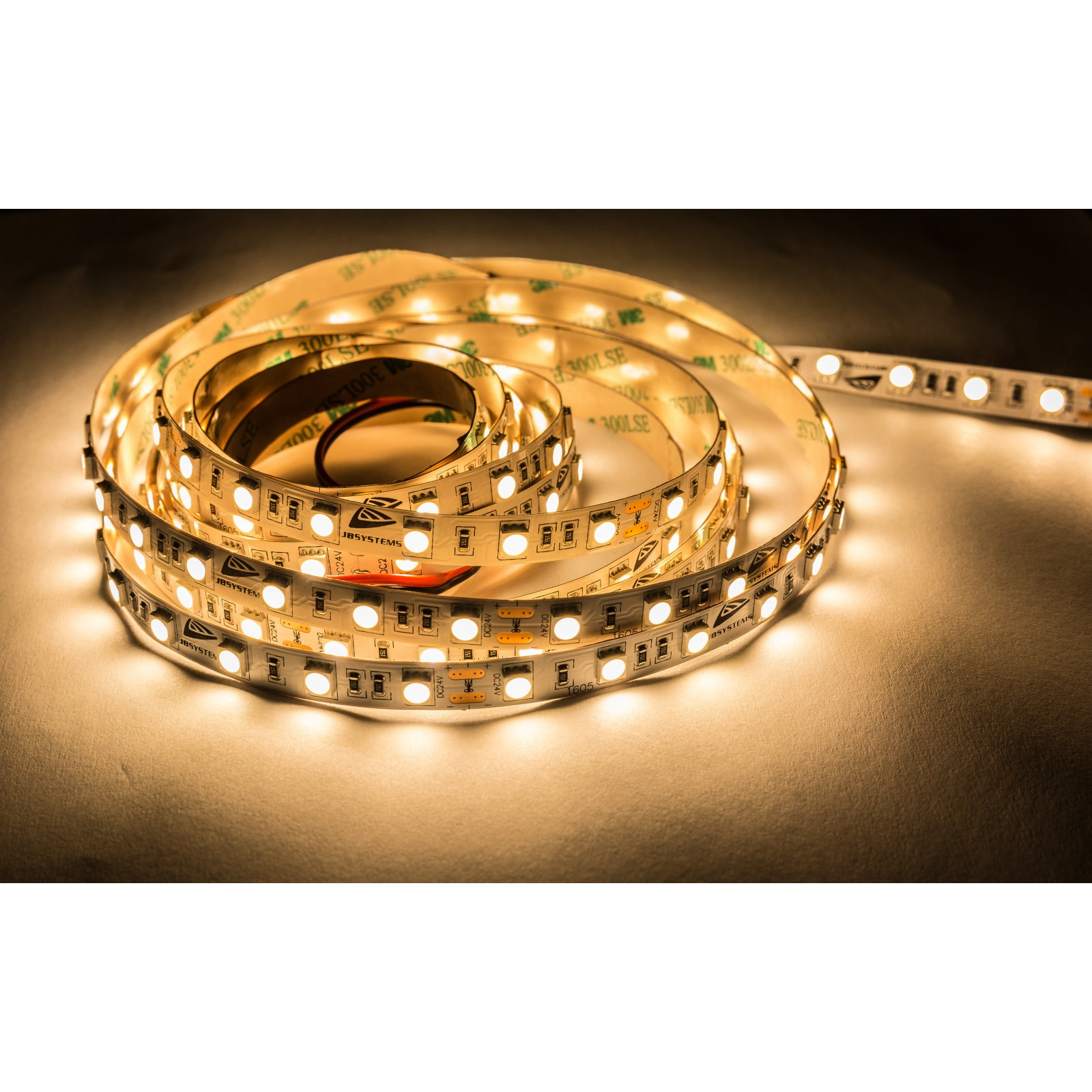 Ruban Flexible Led Blanc Chaud WW IP20 5m JB SYSTEMS LSI-60WW-5050-IP20-5M