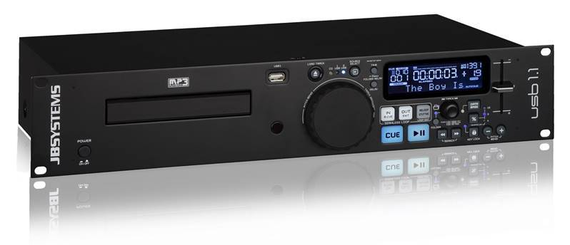 JB SYSTEMS USB 1.1 Mk2 Lecteur simple CD & MP3/USB / article discontinué