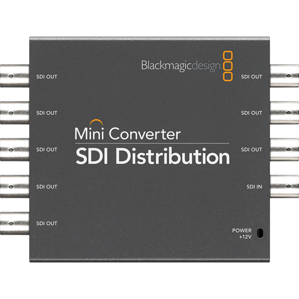Blackmagicdesign Mini Converter SDI Distribution Splitter 1 entrée vers 8 sorties