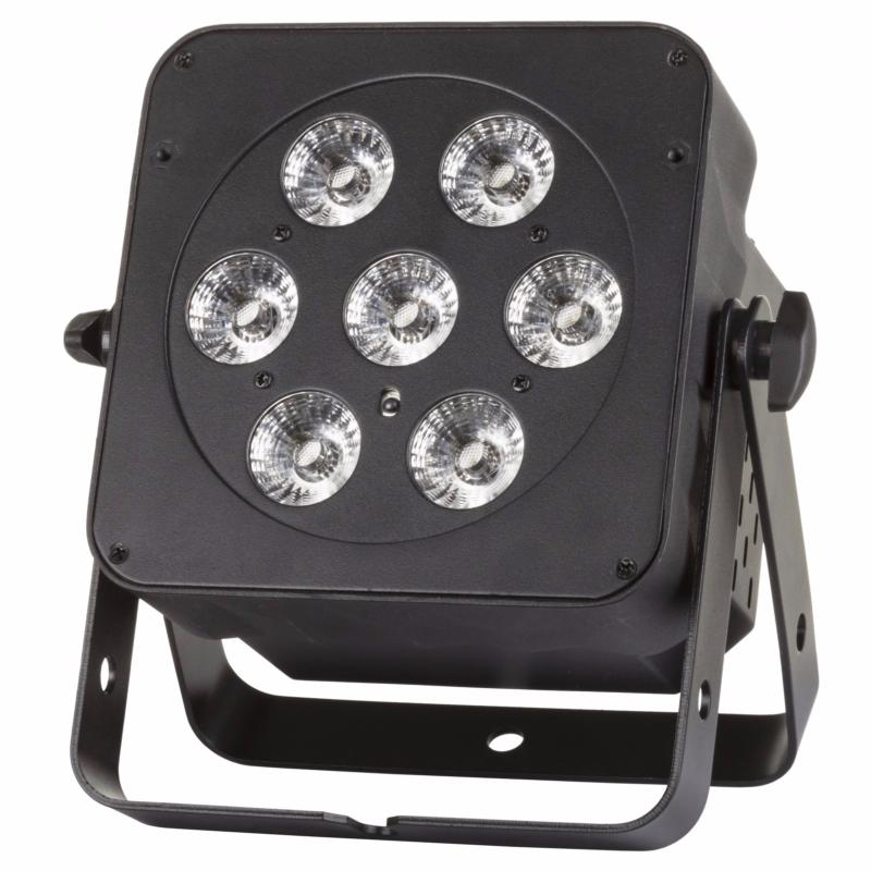 JB SYSTEMS Led Plano 6 en 1 projecteur PAR 7x 12W RGBWA + UV 30°