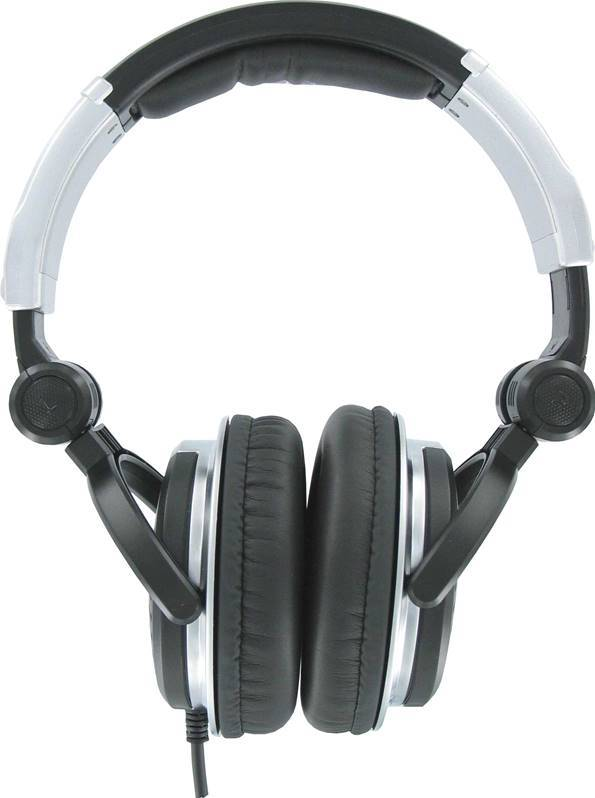 JB SYSTEMS HP2000 PRO Casque Audio DJ, incl ear pads + bag