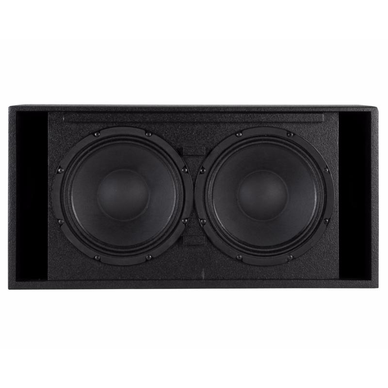 rcf s5020 caisson de basse subwoofer bass reflex 500w rms 4 ohms double10. Black Bedroom Furniture Sets. Home Design Ideas