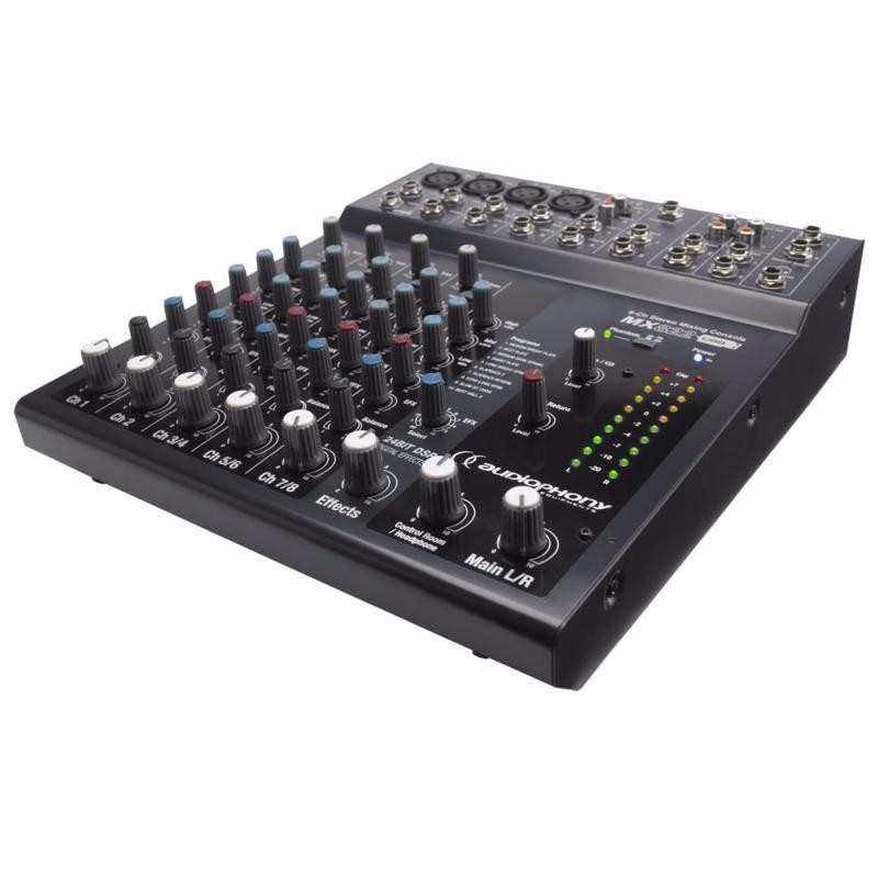table de mixage 4 micros