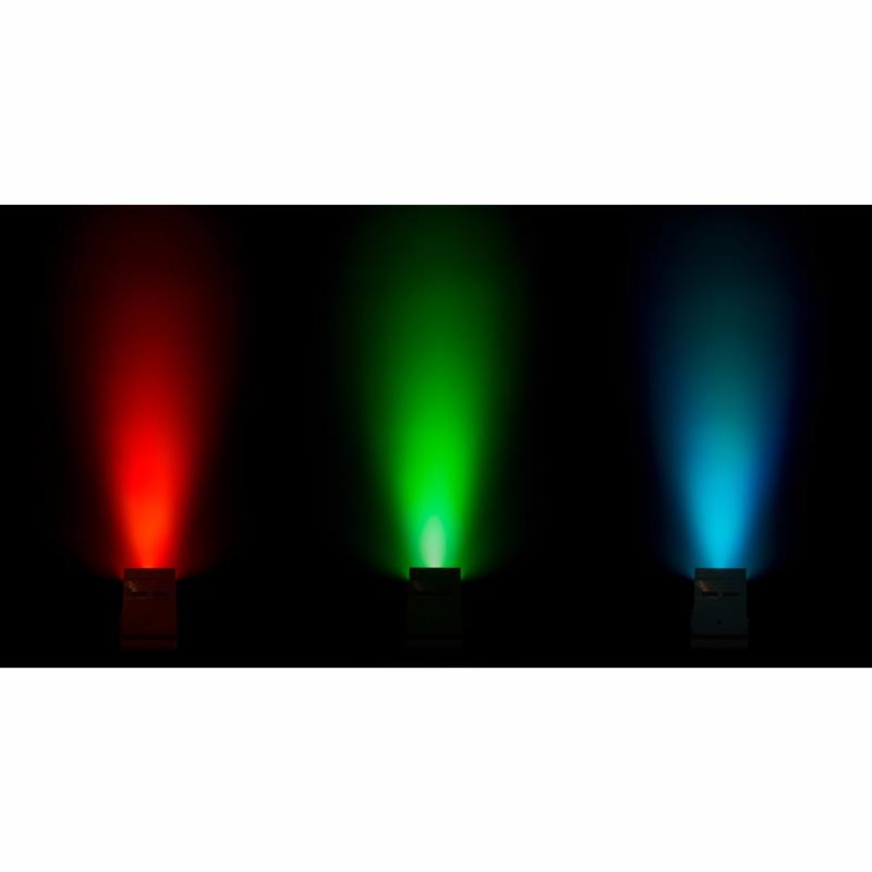 JB SYSTEMS ACCU COLOR PAR LED 6x 10W RGBWA sur batterie coloris noir