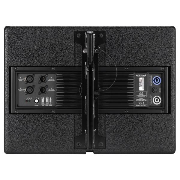 RCF HDL 12-AS Subwoofer Arrayable Line Array actif amplifié 70W RMS  1400W Peak 12""