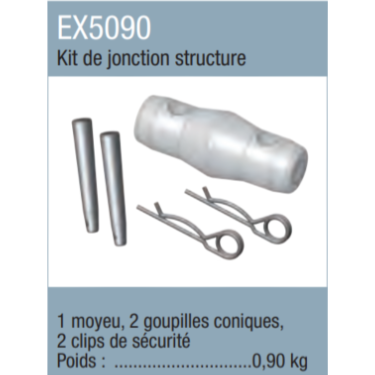 ASD EX5090 kit de jonction structure monotube