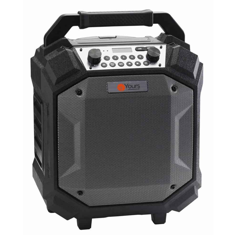 audiophony boombox enceinte sono portable ipx4 sur. Black Bedroom Furniture Sets. Home Design Ideas