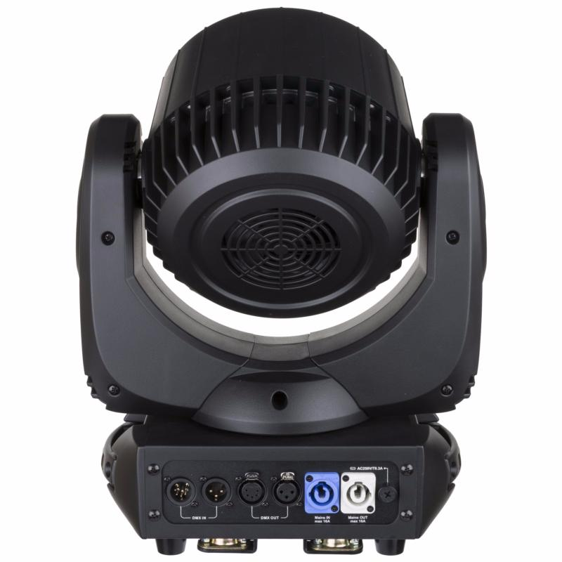 BRITEQ BT ORBIT Projecteur Lyre Wash Led 19 x 15W RGBW zoom 10-60 deg