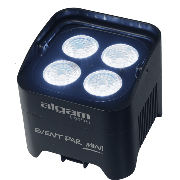 Algam Lighting EVENTPAR MINI projecteur PAR LED sur batterie 4x 10W RGBW 40°