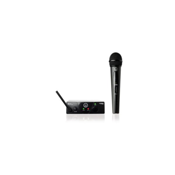AKG WMS40 Mini Single Vocal Set ISM1 micro main sans fil HF