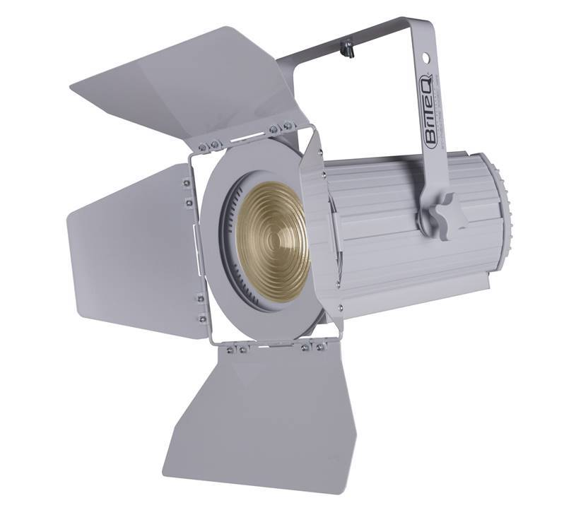 DEMO / OCCASION GAR 6 mois BRITEQ BT-THEATRE 100EC WHITE Fresnel LED 100W 3200K coloris blanc