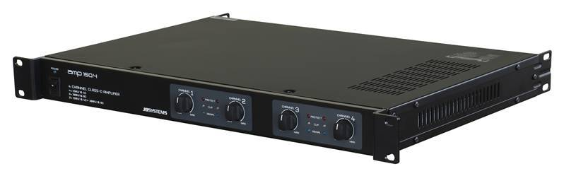 JB SYSTEMS AMP 150.4 Amplificateur 4 canaux, 4x 150W @ 4Ohm