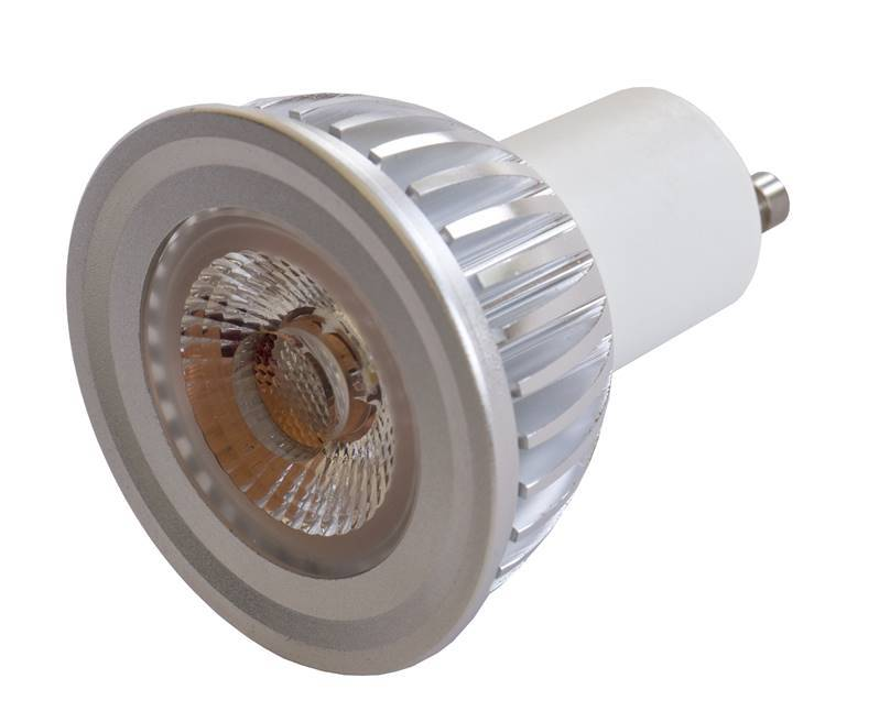 JB SYSTEMS LED-GU10-5W-WW-38D Ampoule Led GU10, 5W - 240Vac DIM, blanc chaud, 38°