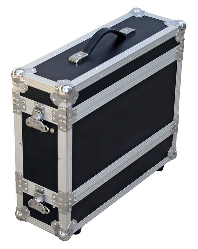"JV CASE MICRO CASE 3U Flight-Case 19"" rack 3U profondeur 230mm/300mm"