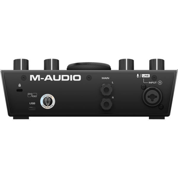 M Audio AIR192X4 interface audio carte son 1 entrée micro + 1 entrée instrument USB-C