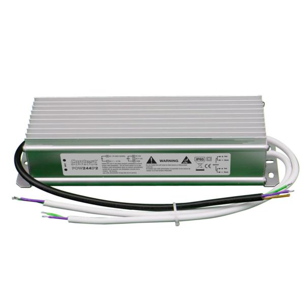 Alimentation Ruban LED 24VDC 100W max. - IP65 - 2 sorties POW244IP2
