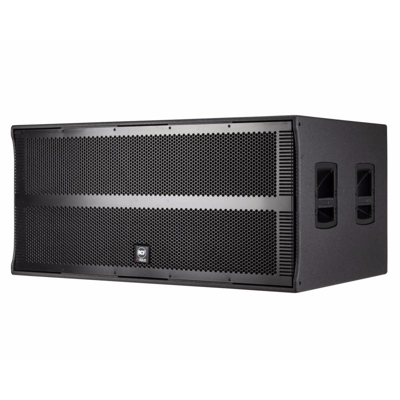 rcf vmax v218 s sub caisson de basse passif bass reflex 3000w aes subwoofer. Black Bedroom Furniture Sets. Home Design Ideas