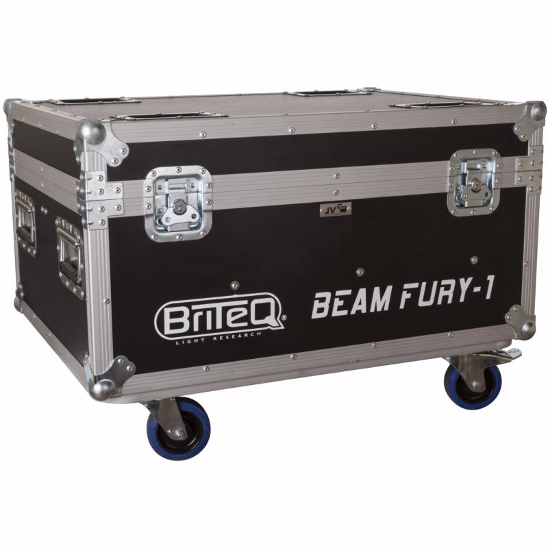 DEMO JV CASE Flight Case pour 6 BRITEQ BEAM FURY 1