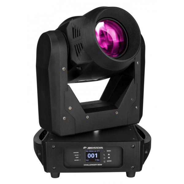 JB SYSTEMS CHALLENGER BSW lyre LED 150W Beam / Spot / Wash focus, zoom, prisme
