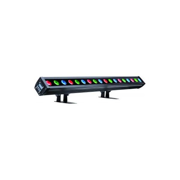 NICOLS LED BAR 183 FC IP barre Led 18x 3W RGB FC IP65