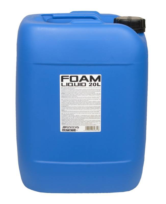 JB SYSTEMS FOAM LIQUID CC 20L Liquide concentré pour machine à mousse 20L