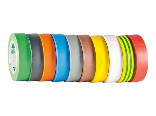 ADVANCE Adhésif PVC TAPE 15mm x 10m 10 couleurs AT7 PACK 10xRLX