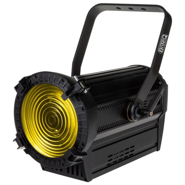 BRITEQ BT-THEATRE HD1 projecteur Fresnel Led RGBAL 200W  zoom motorisé 14° à 55°