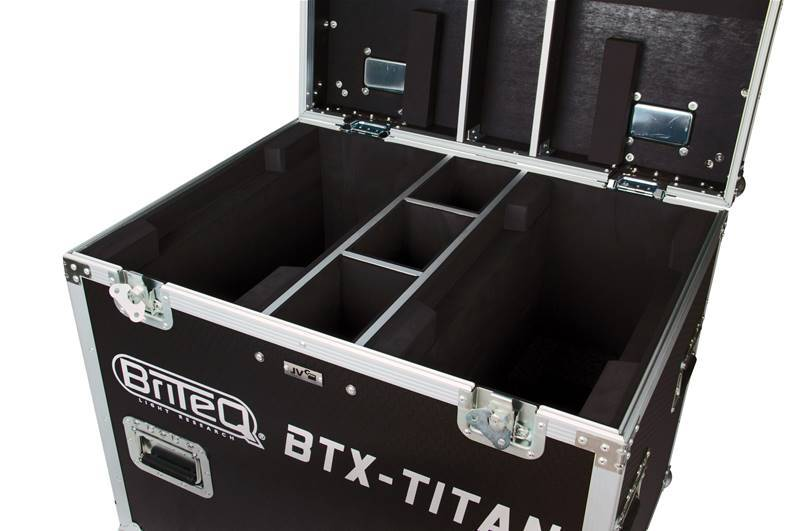 JV CASE CASE Flight-case pour 2x BTX-TITAN