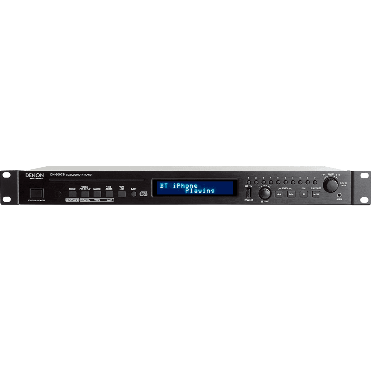 Denon Pro DN-500CB Lecteur audio multimédia CD USB Bluetooth