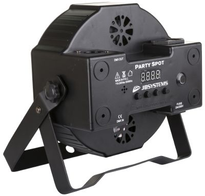 JB SYSTEMS PARTY SPOT projecteur LED RGB compact